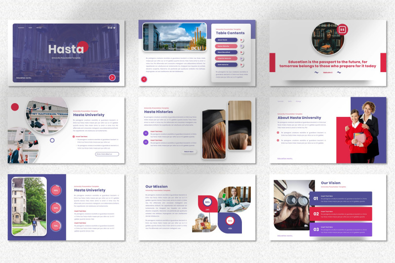 hasta-university-keynote-template