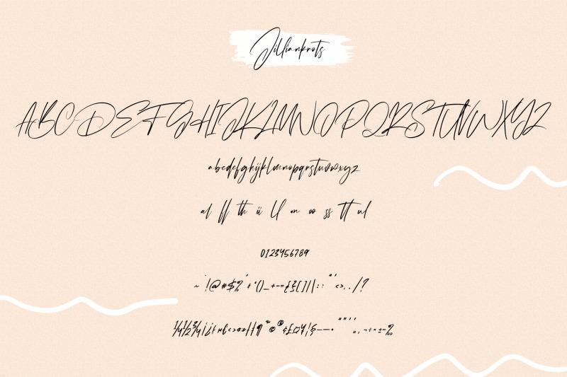 jilliankrots-signature-font