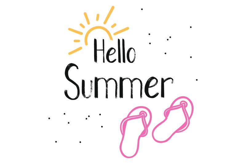 hot-summer-textured-font