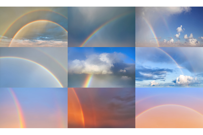 rainbow-sky-replacement-pack
