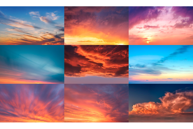sunrise-sunset-sky-replacement-pack