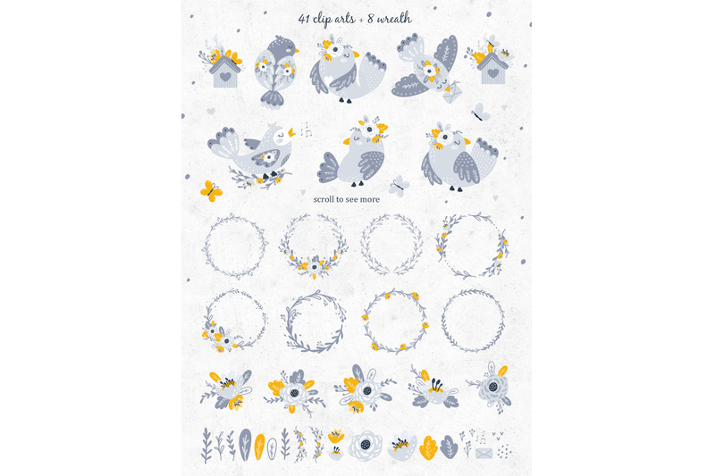 birds-and-flowers