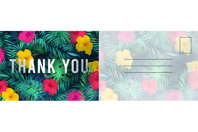 thank-you-postcard-abstract-background-with-red-hibiscus-flowers-and