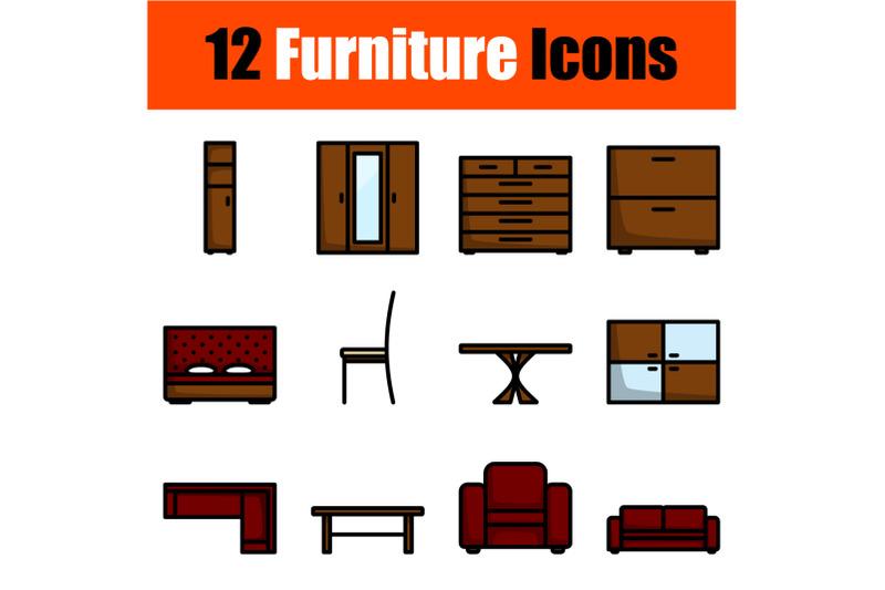 furniture-icon-set