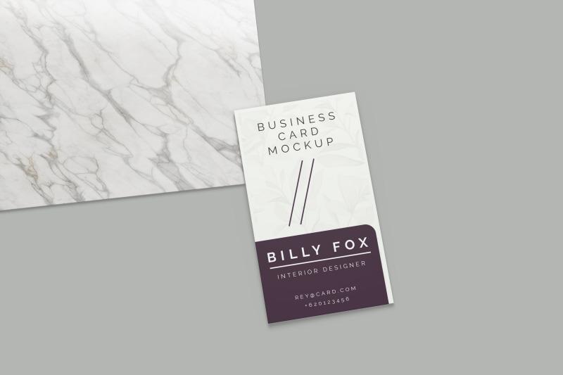 Download Elegant Business Card Mockup Free Mockups