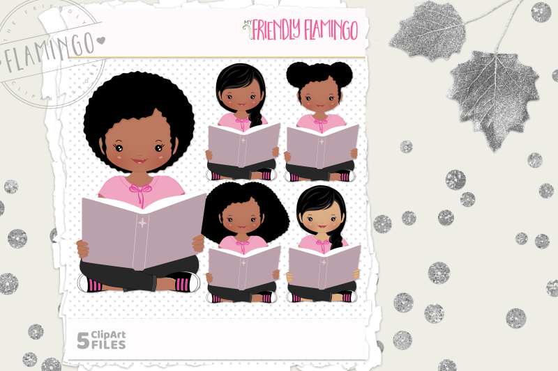 story-time-girl-clipart