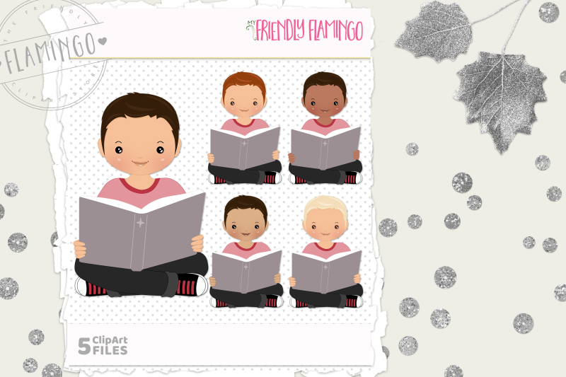 story-time-boy-clipart