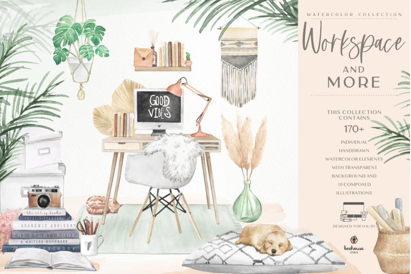 watercolor-workspace-elements