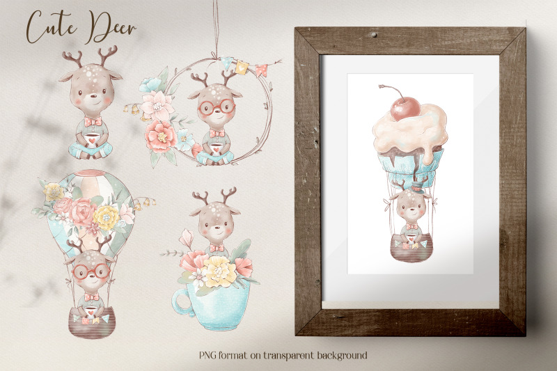 cute-woodland-animals-clipart