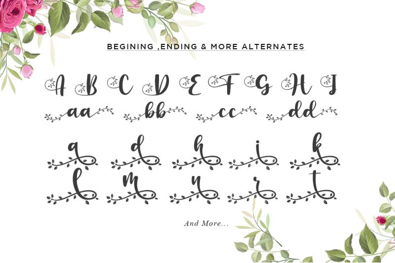 botanical-flourish-a-natural-handwritten-font