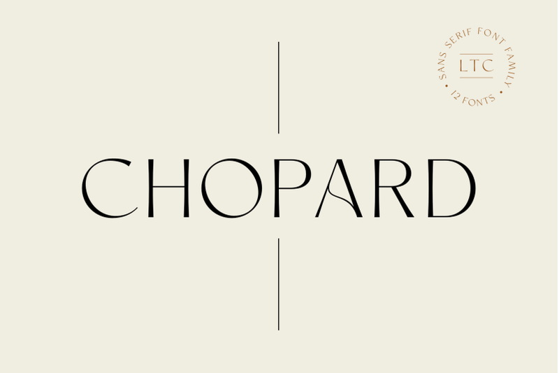 chopard-font-family