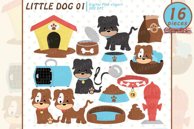 cute-dog-clipart-puppy-clip-art-pet-dog-house