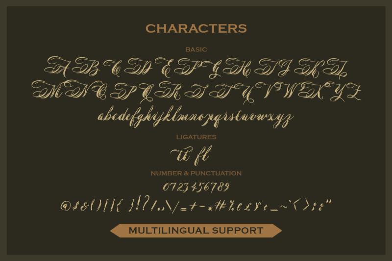 margoline-script-font