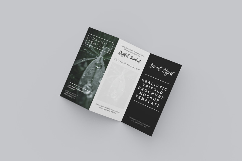 realistic-trifold-brochure-mockup-template