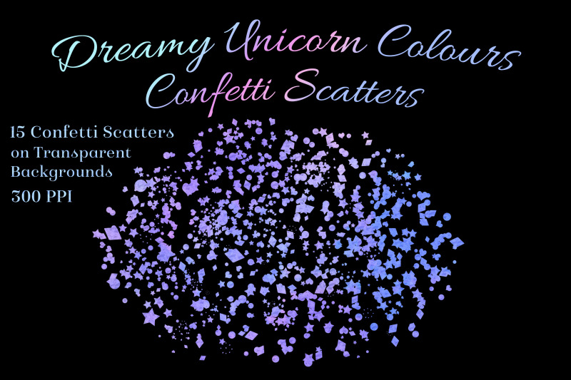 dreamy-unicorn-colours-confetti-scatters-15-overlays