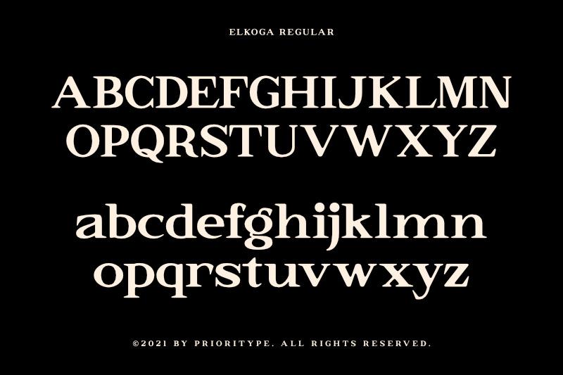 elkoga-round-serif-typeface