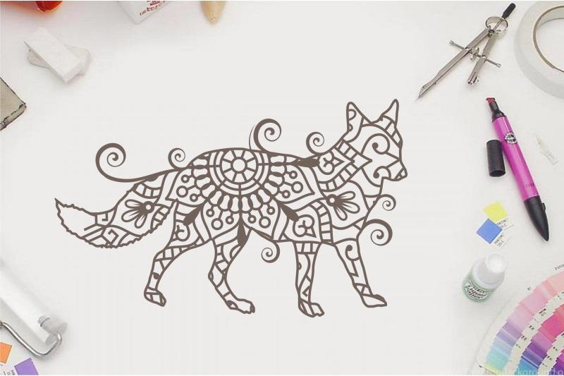 fox-zentangle-fox-doodle-art-svg