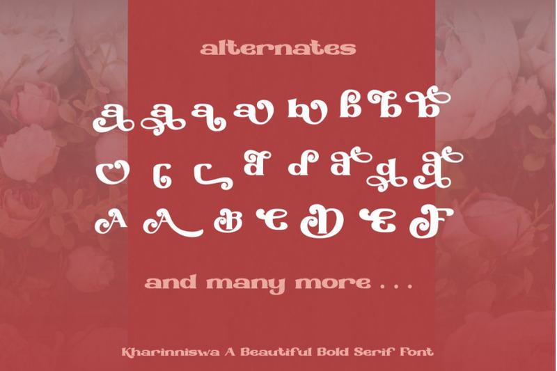 kharinniswa-a-beautiful-bold-serif-font