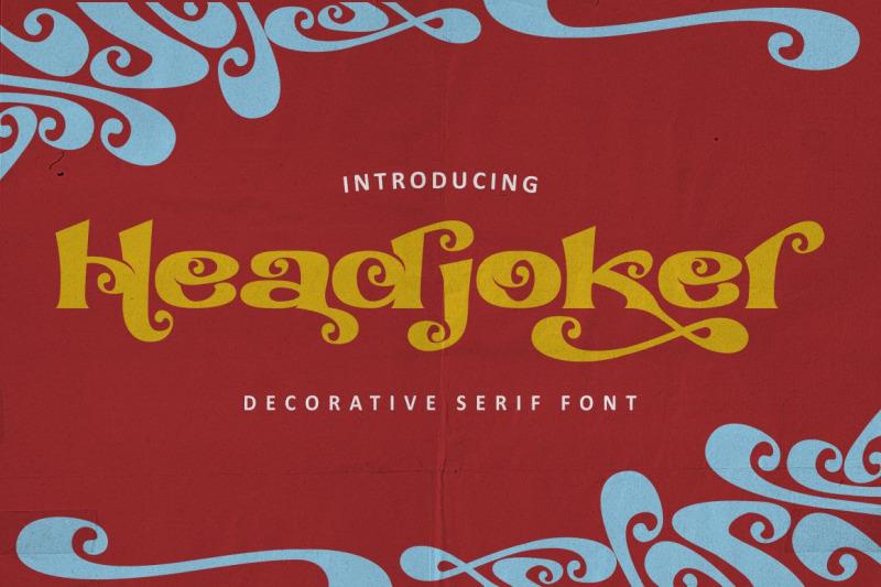 headjoker-decorative-serif-font