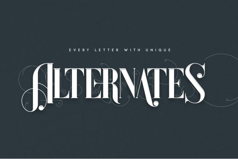 unique-decorative-serif-font