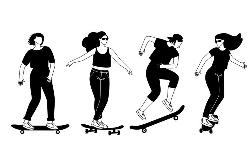 street-longboards-silhouettes