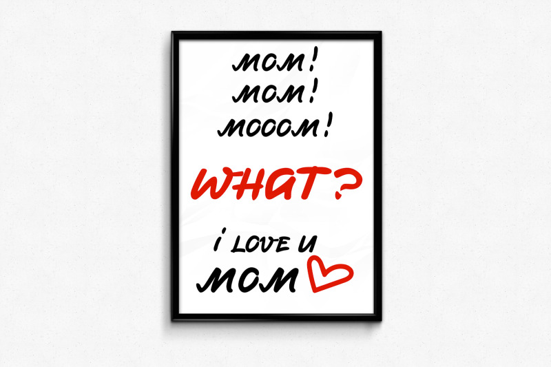 mother-day-card-design-with-funny-and-sweet-lettering