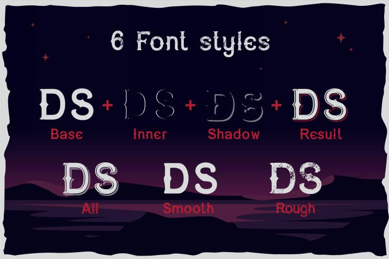 dark-surfer-vintage-label-font
