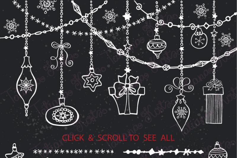 christmas-diy-garland-brushes-set