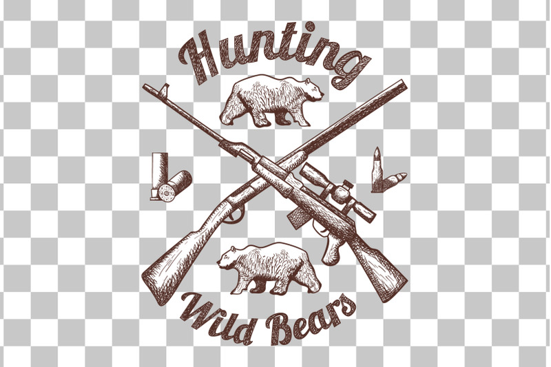 5-hunting-retro-sketch-designs
