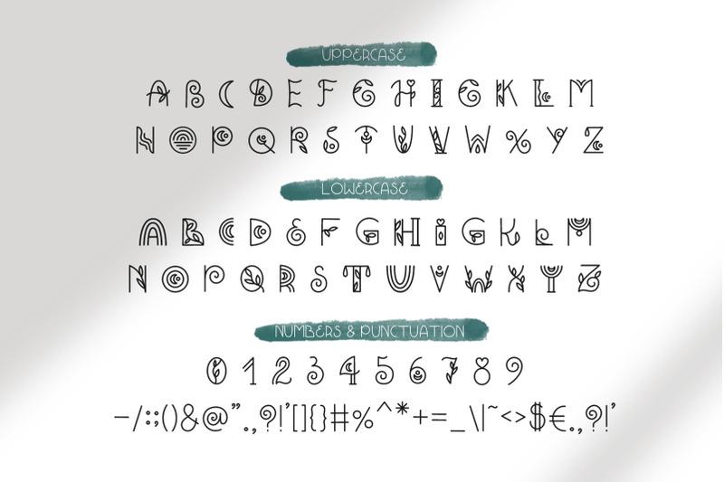 bohemian-decorative-font-duo