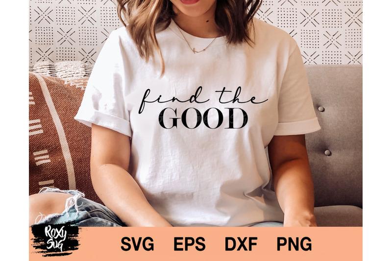 find-the-good-svg