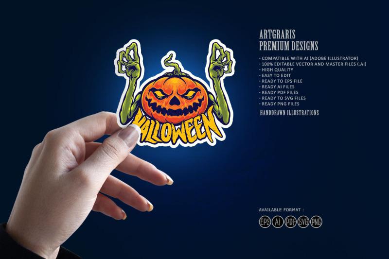 halloween-jack-o-lantern-pumpkin-monster-terror