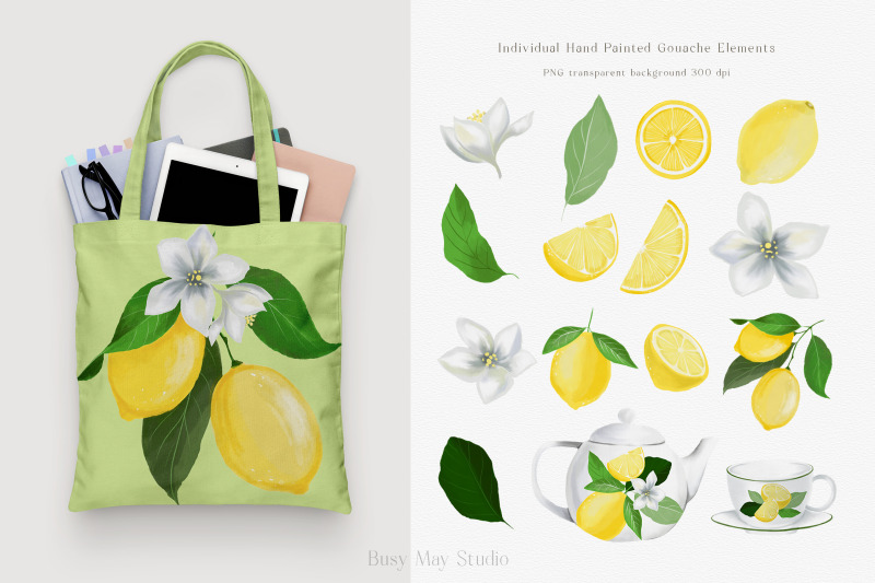 lemon-gouache-illustrations-and-seamless-patterns-summer-png