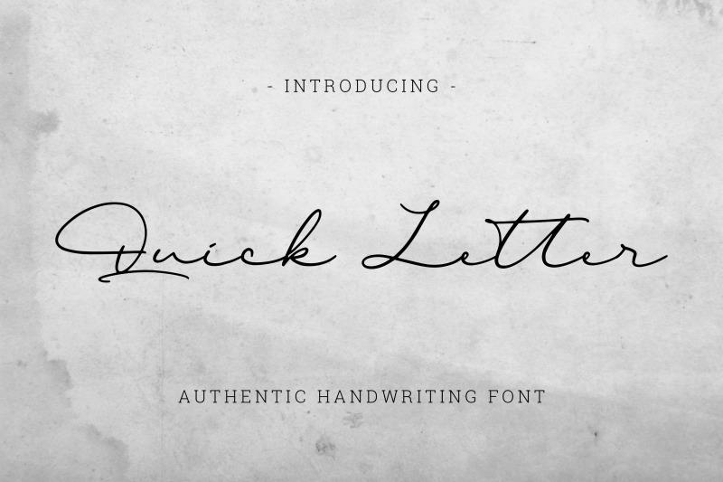 quick-letter