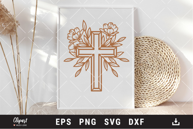 flower-cross-svg-dxf-png-religious-cross-svg-cut-files