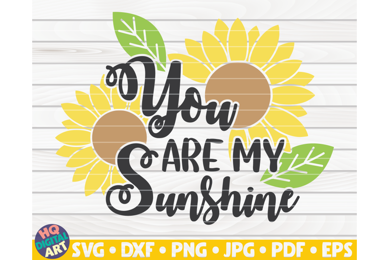 you-are-my-sunshine-svg-sunflower-quote-svg