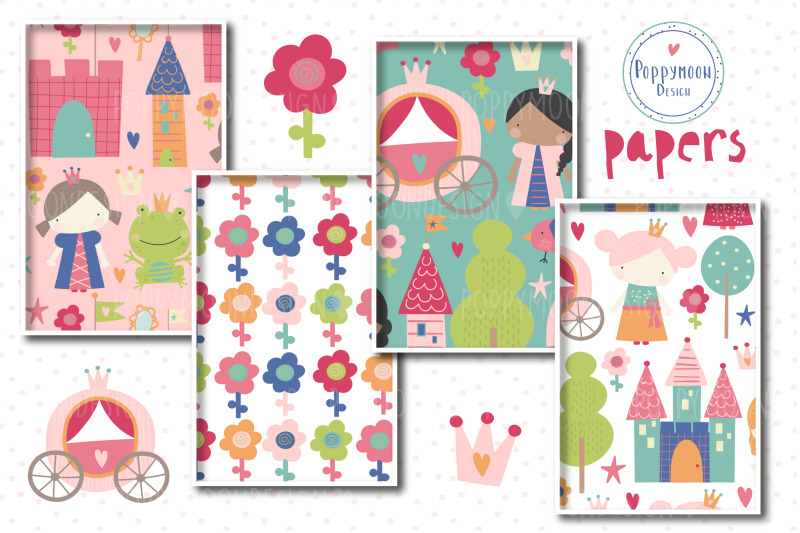 princess-paper-set