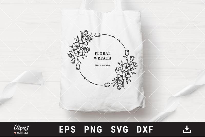 floral-wreath-svg-monogram-svg-bundle-wedding-wreath-svg-dxf-png