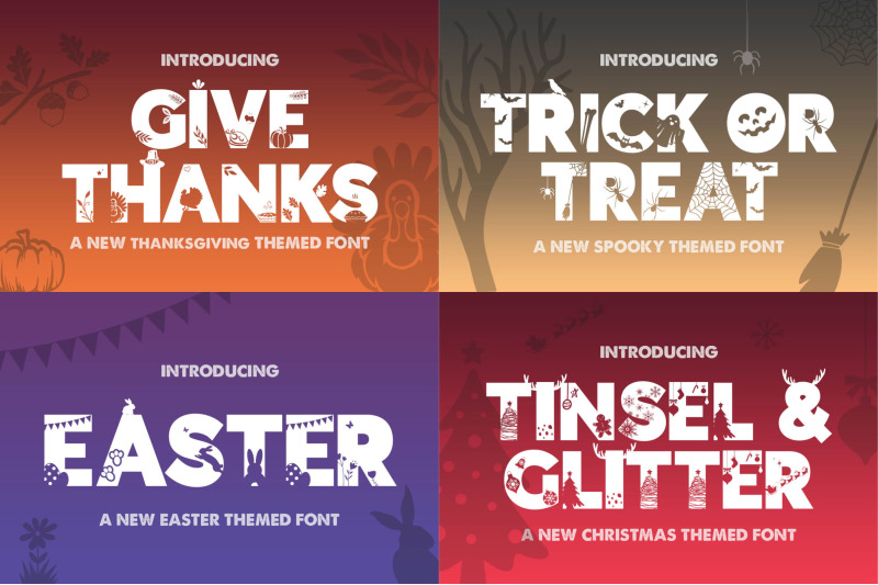 the-silhouette-font-bundle-complete-collection-craft-fonts