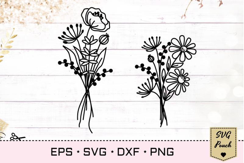 wildflowers-svg-bundle-set