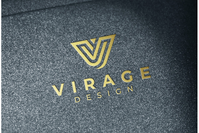 logo-mockup-embossed-gold-logo
