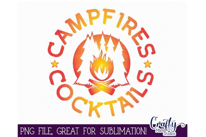 campfires-cocktails-png-sublimation-file-design