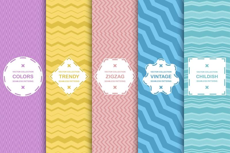 color-backgrouds-zigzag-patterns