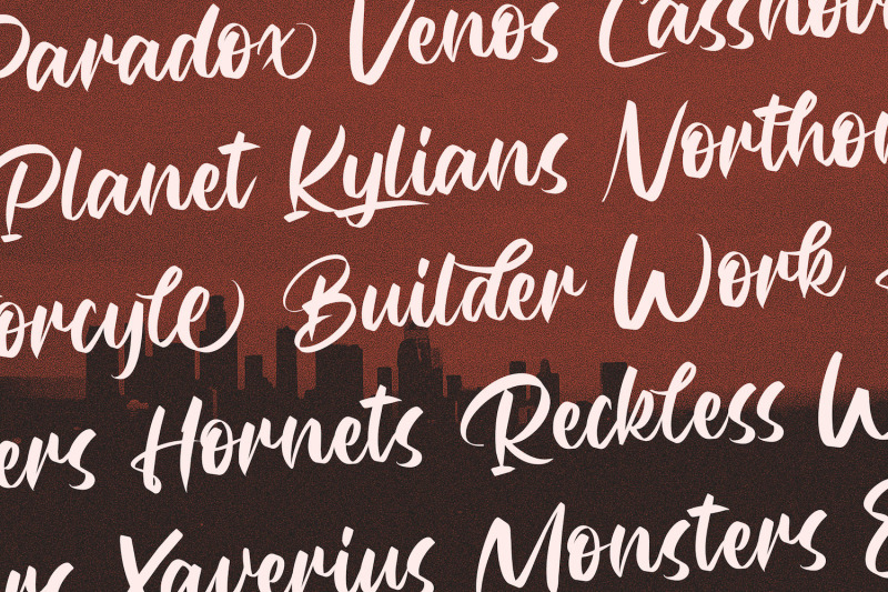 rubeyma-bold-script-font
