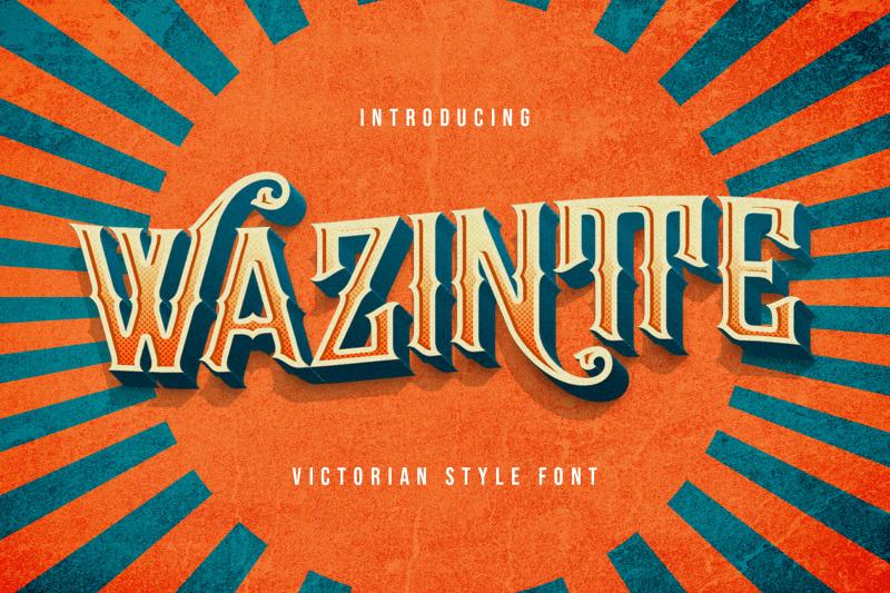 wazintte-victorian-decorative-font