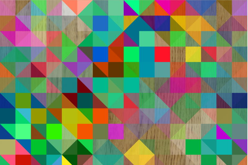 retro-rainbow-pixel-polygon-overlays