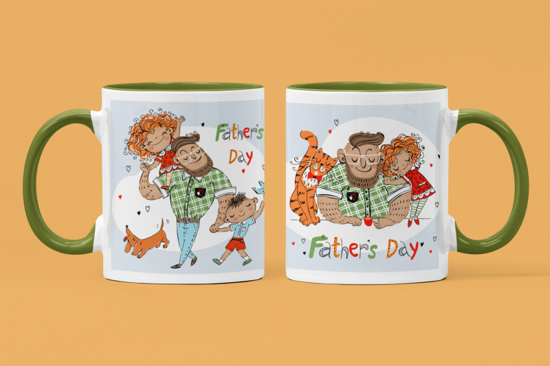 father-039-s-day-sublimation-mug-wrap-template-daddy-039-s-mug-png