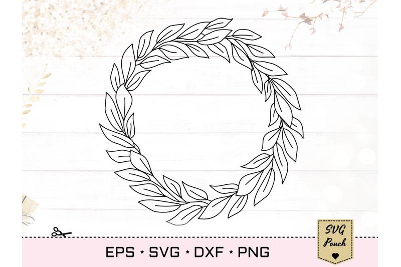 leaves-wreath-svg