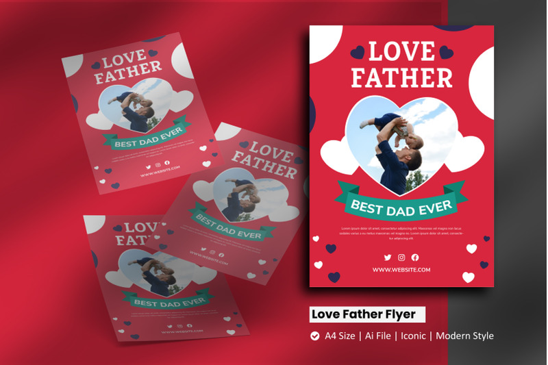 love-father-flyer