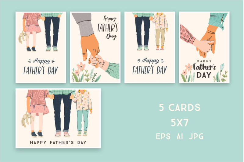 happy-fathers-day-set-of-cards-5x7
